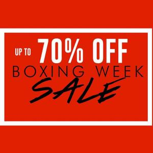 Boxing Week Sale 26th December To 1st January